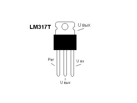 LM317T.