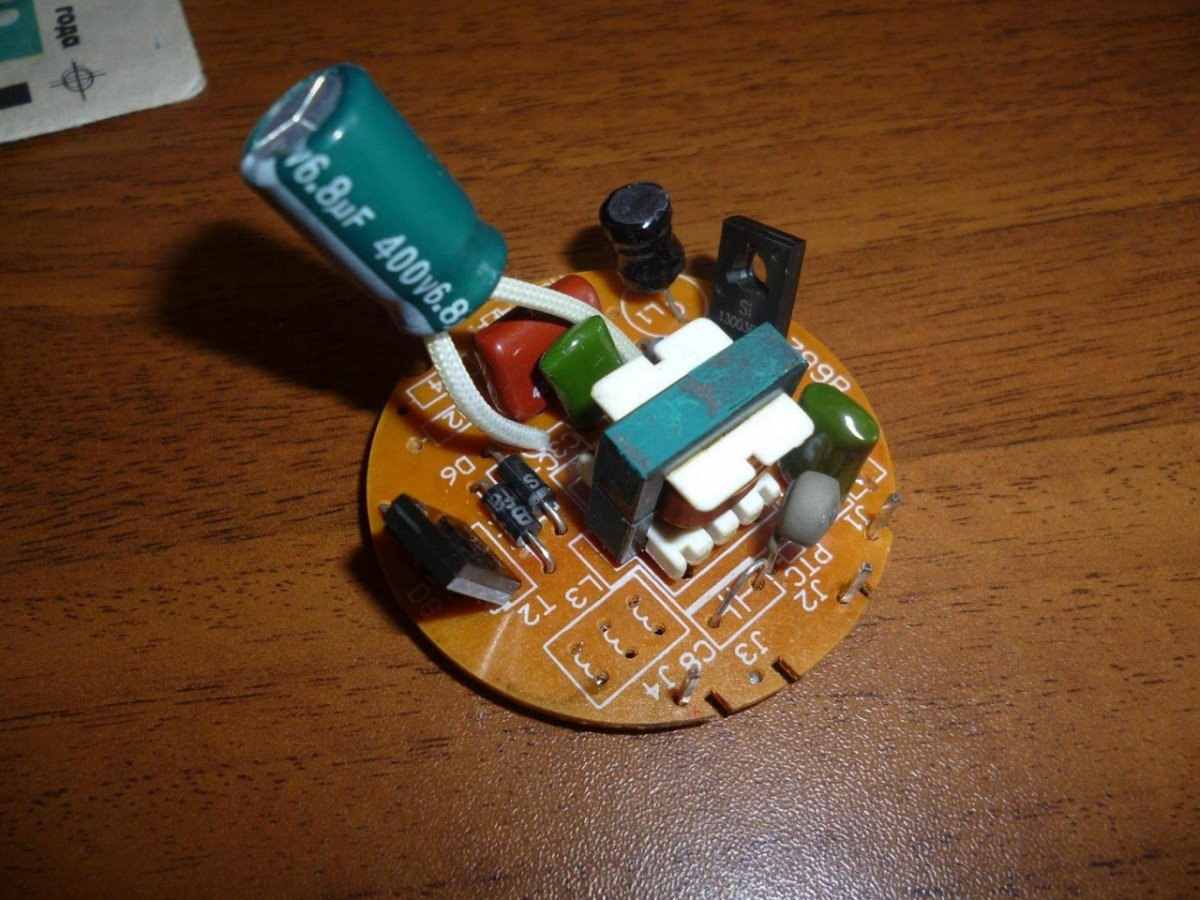 Ремонт энергосберегающих ламп своими руками термистор