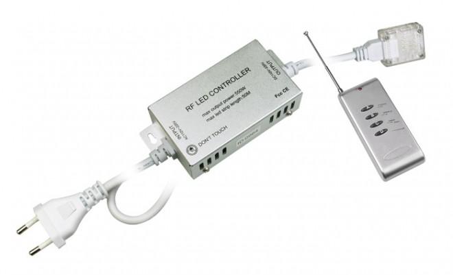Контроллер для светодиодной ленты MVS-5050 RGB с пультом ДУ.  500. 150.