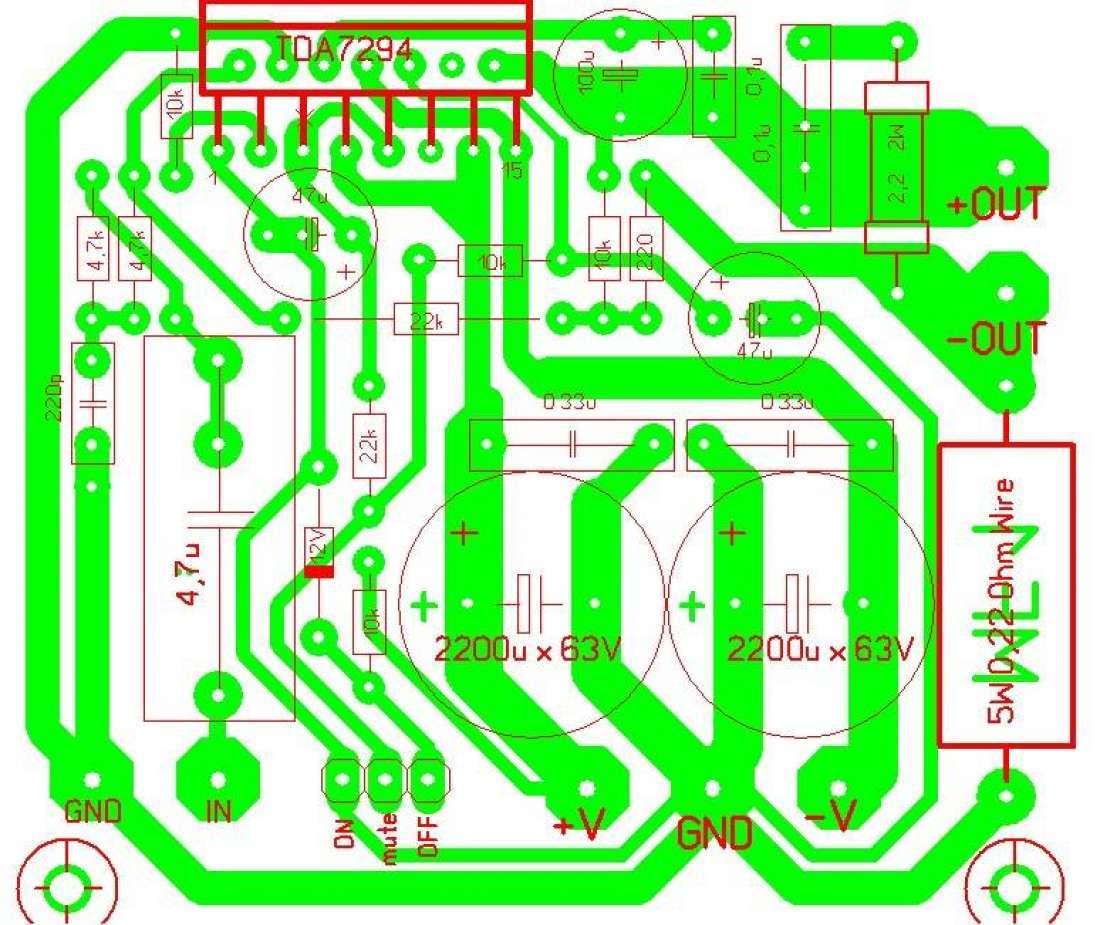 Поділля м100 з транзисторів на
