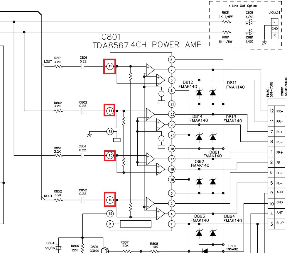 Lg tcc 5640 схема