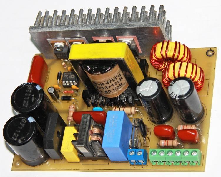Импульсный трансформатор для блока питания своими руками 435