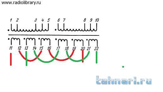 Трансформатор тпп245 схема
