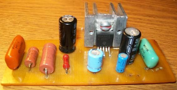 микросхема tda 2003.