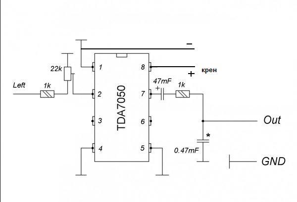 Изображения. так будет? а как крен (7805) подключать или какой на 5 вольт?