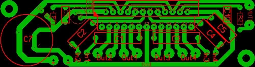 усилитель на tda 7560 - Микросхемы.