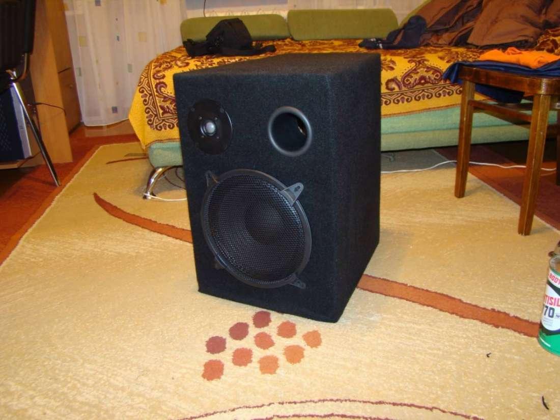 Как сделать акустическую колонку с