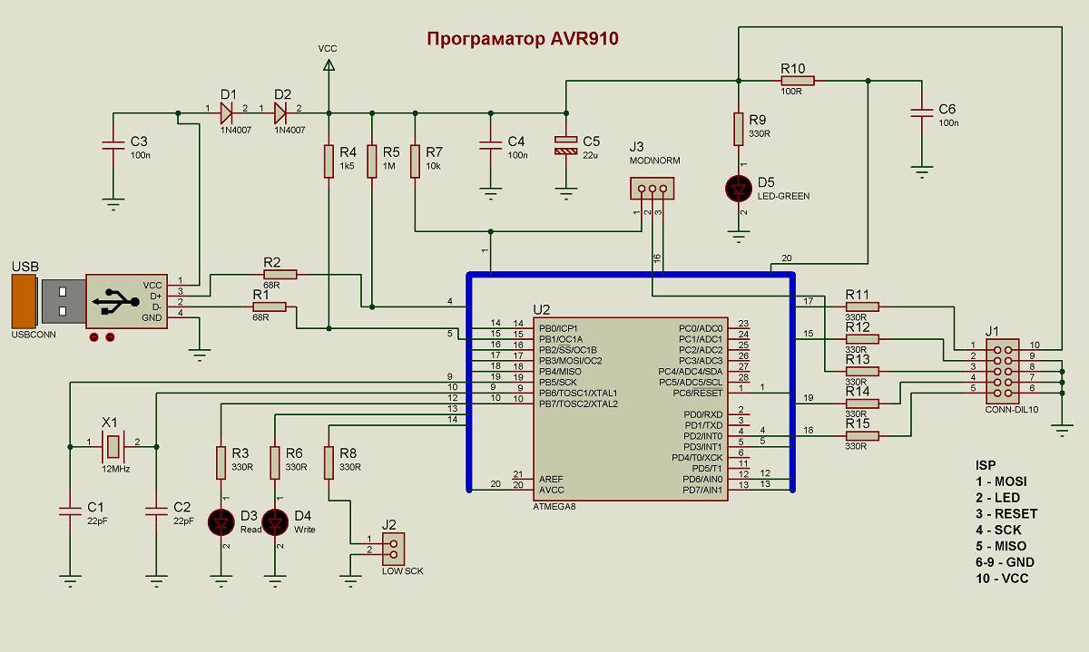 Устройства на avr контроллерах своими руками 75