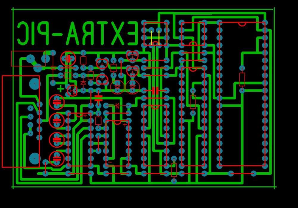 Extra-PIC программатор PIC микроконтроллеров - рабочий вариант!