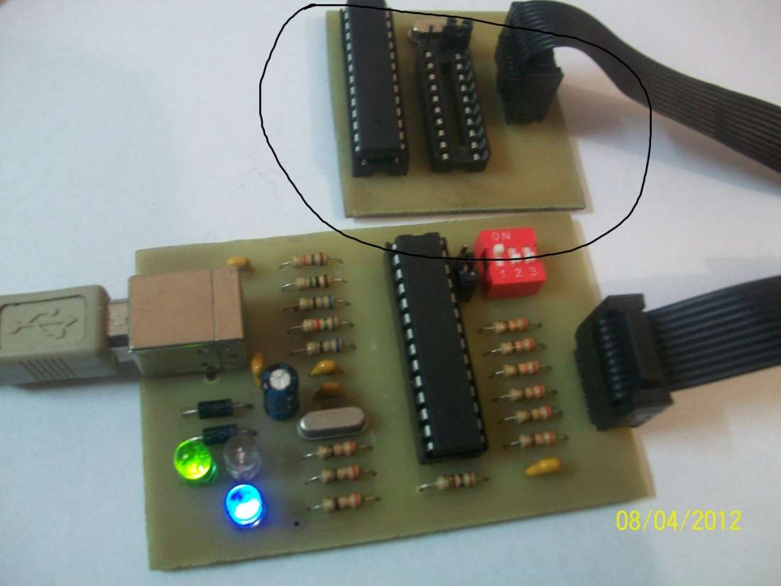 Технический форум - Показать сообщение отдельно - USB программатор AVR-910