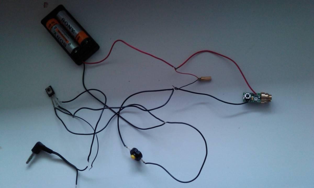 схема простой цветомузыки 12 вольт