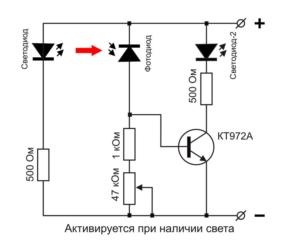 Простые схемы электроники для начинающих
