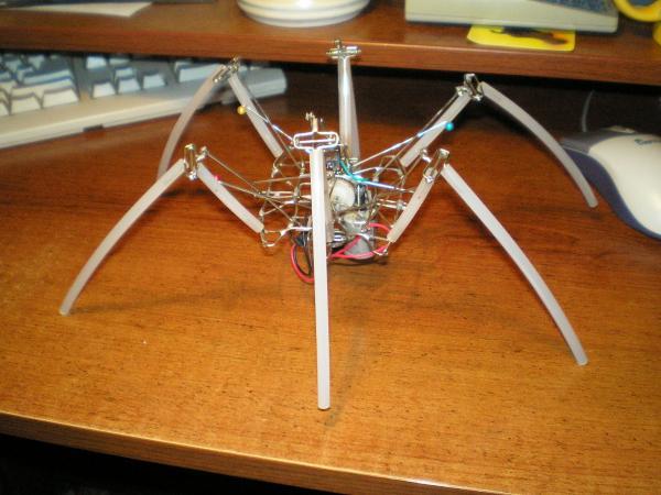 Технический форум - Показать сообщение отдельно - Робот на одной микросхеме.