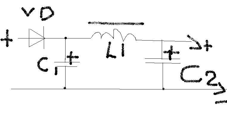 Автомобильный сигнал Схема сетевого фильтра Микросхема Запросы по темам электроникаФильтр питания автомобильный схема.