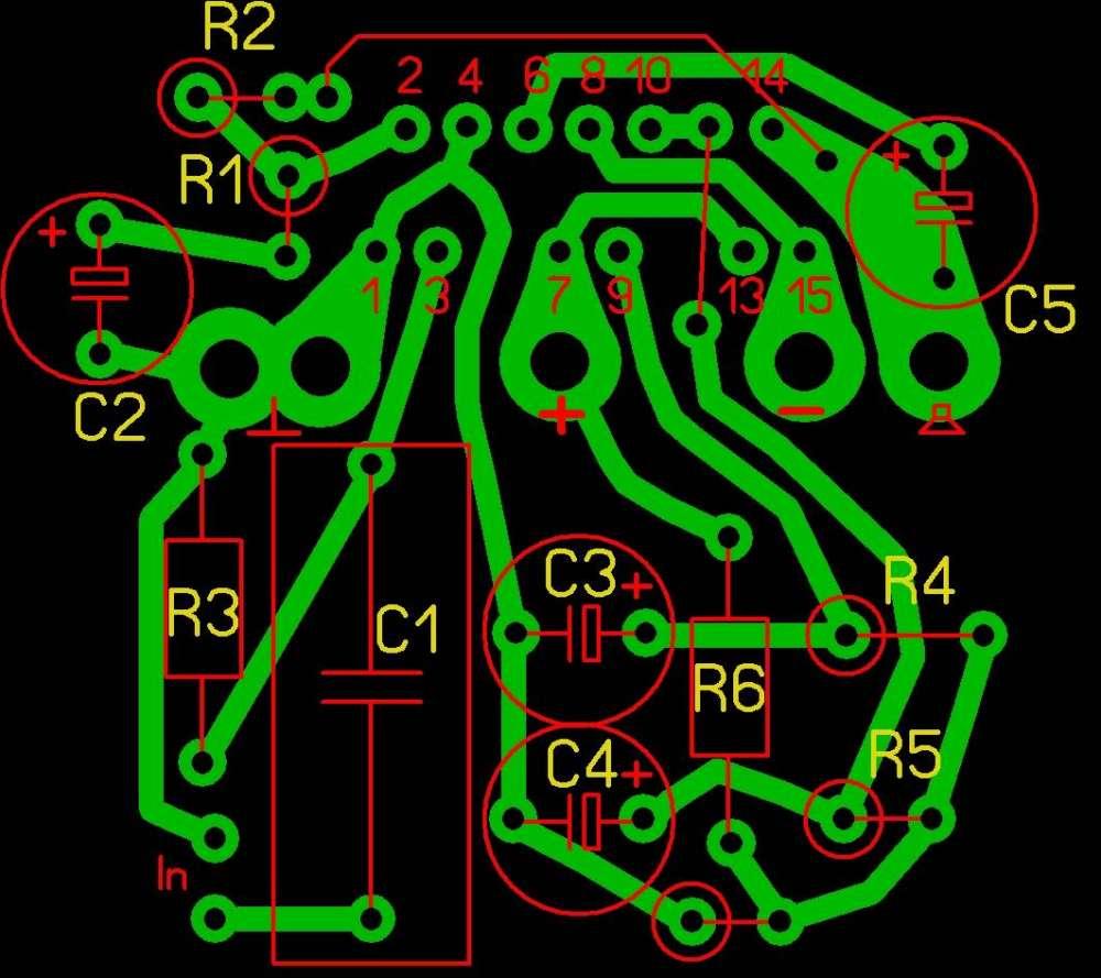 Технический форум - Показать сообщение отдельно - Помогите с печаткой для TDA7294.