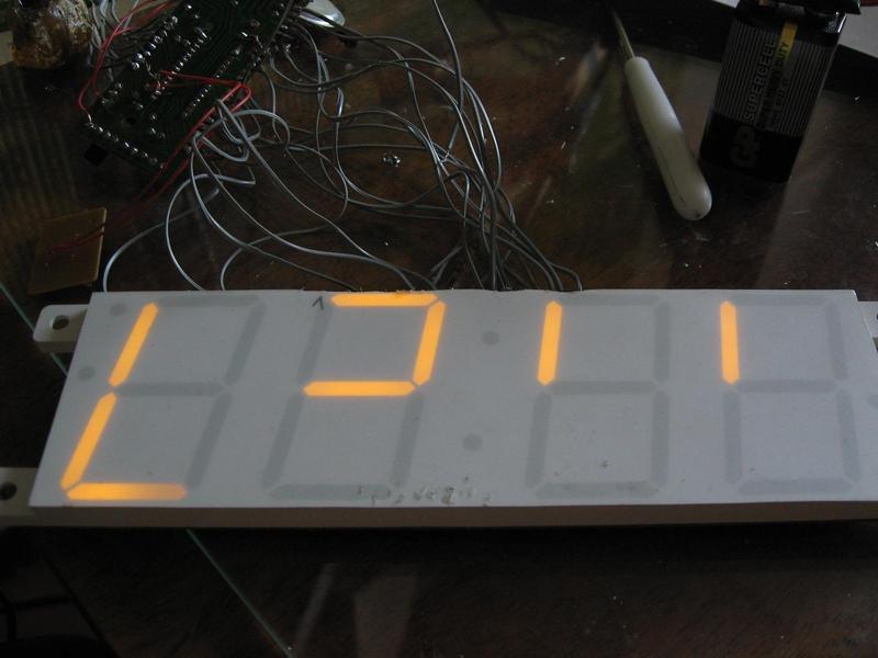 Часы на микросхеме LM8560,