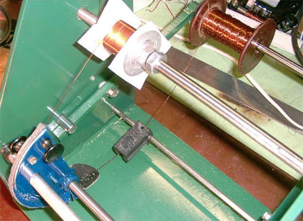Станок для намотки катушек из принтера своими руками 96