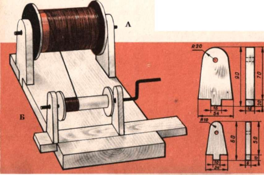 Станок для намотки катушек из принтера своими руками 83