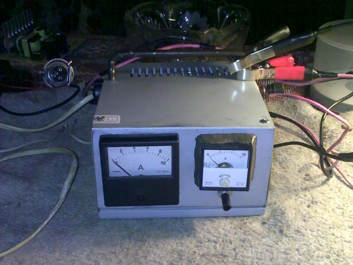 Как сделать зарядное устройство с реостатом