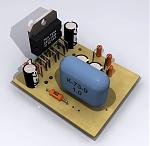 TDA7294 - микросхема усилителя низкой частоты производства французской фирмы THOMSON.  Эта микросхема построена на.