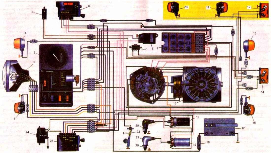 Схема электропроводки иж планета 5 12 вольт фото 735