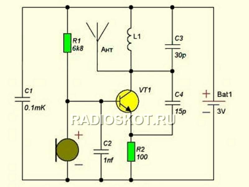 Как сделать радиожучка