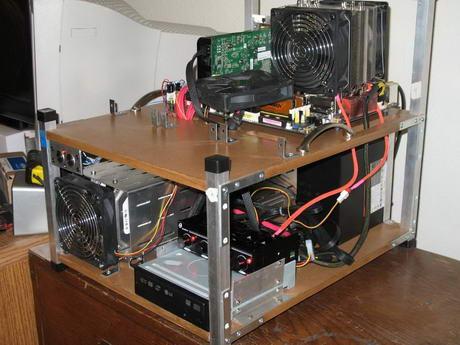 Стенд компьютер своими руками