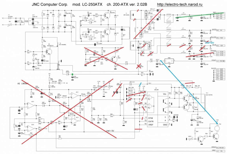 Схема и описание блока питания с плавной регулировкой 0 ...