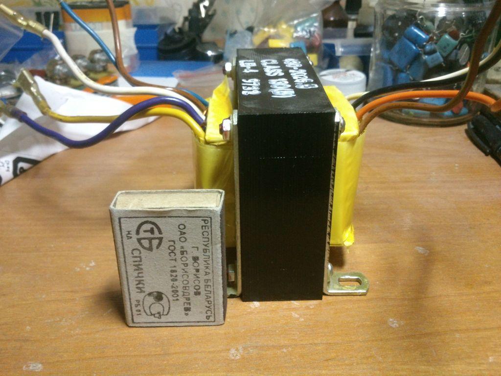 Схема трансформатора е184736
