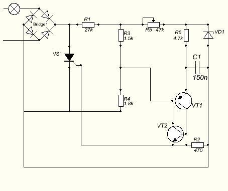 Тиристорный регулятор мощности - Википедия.  Тиристор поставлю ку202н с радиатором...