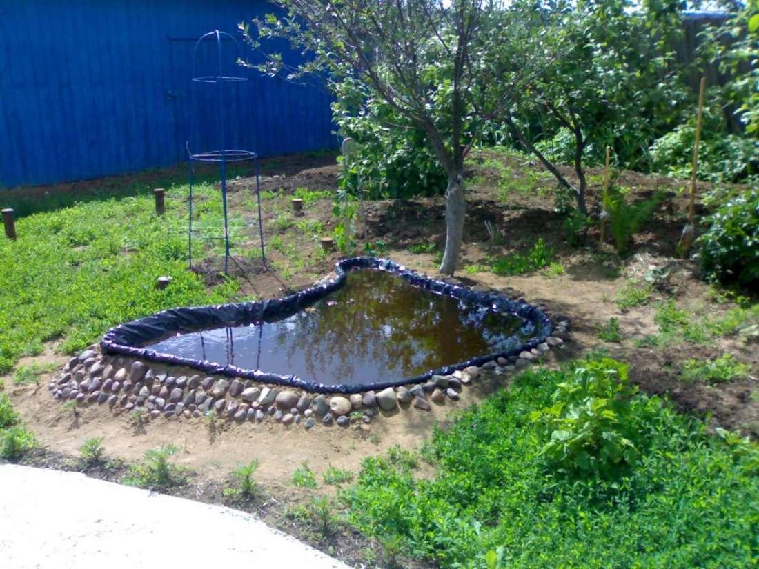 Как сделать водоем во дворе своими руками 86