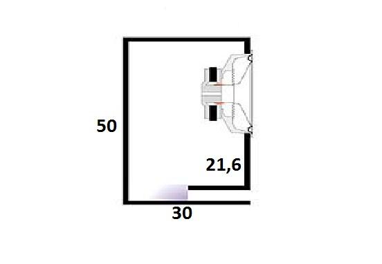 Как рассчитать глубину порта для сабвуфера