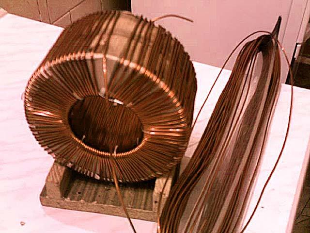 Намотка тороидальных трансформаторов своими руками фото