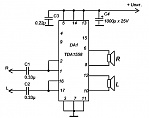 Гораздо проще купить микросхему TDA1558 и сделать простейший усилитель.  Выходная мощность 2 Х 22 ватта.