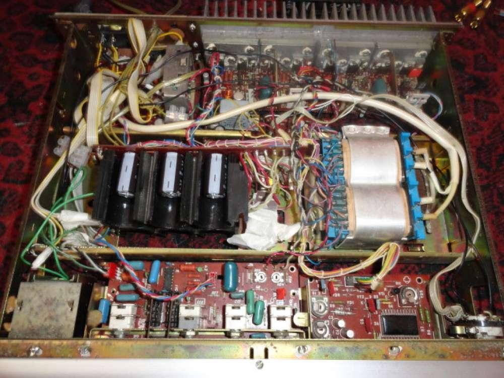 Усилитель Бриг У001 стерео  схема внешний вид фото