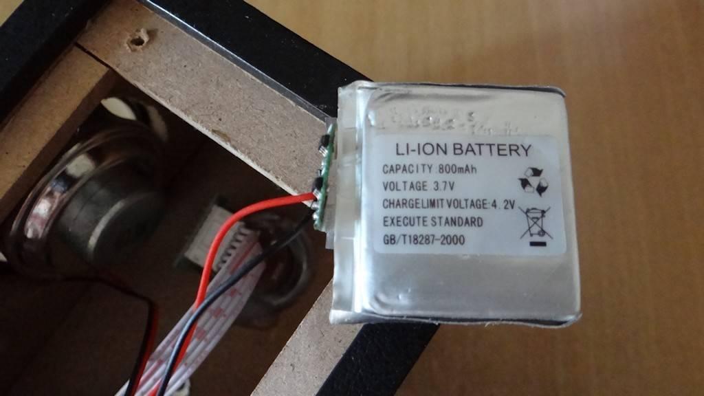 Как сделать чтобы колонка работала от батареи