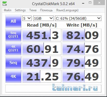 Название: CristalDiskMark.C.png Просмотров: 33  Размер: 37.5 Кб