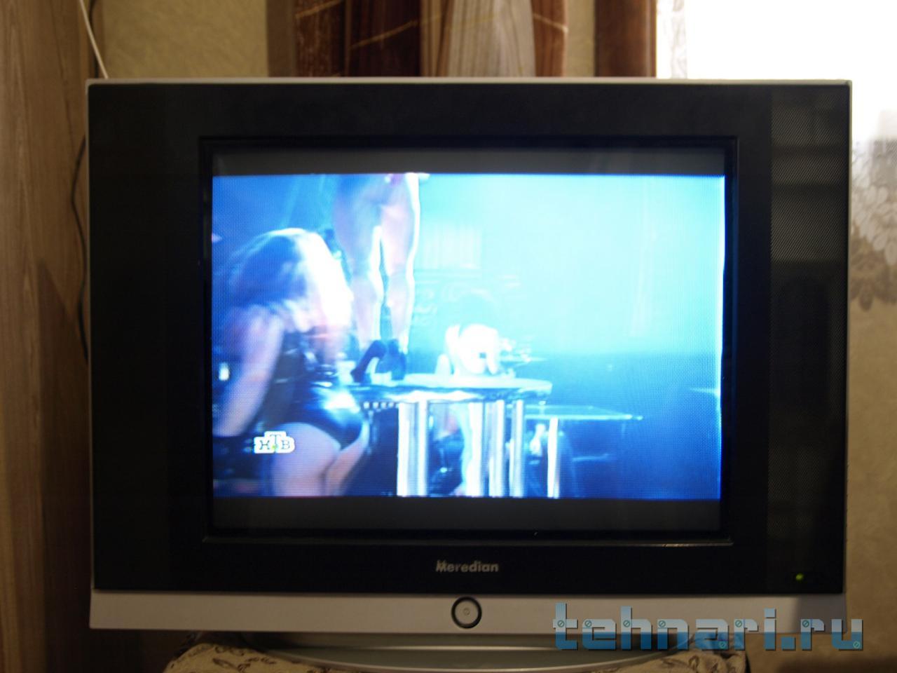 изображение на телевизоре сузилось