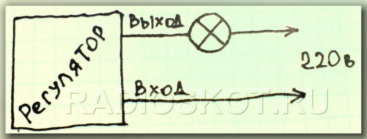 О деталях регулятора яркости: C1-0.1мкф(104), динистор DB3, тиристор (симистор) можно использовать другой, в...