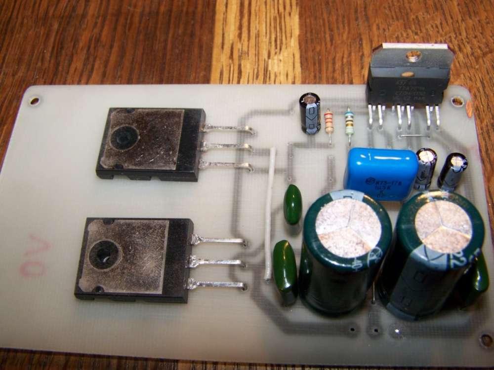 схема автомобильного усилителя tda7294