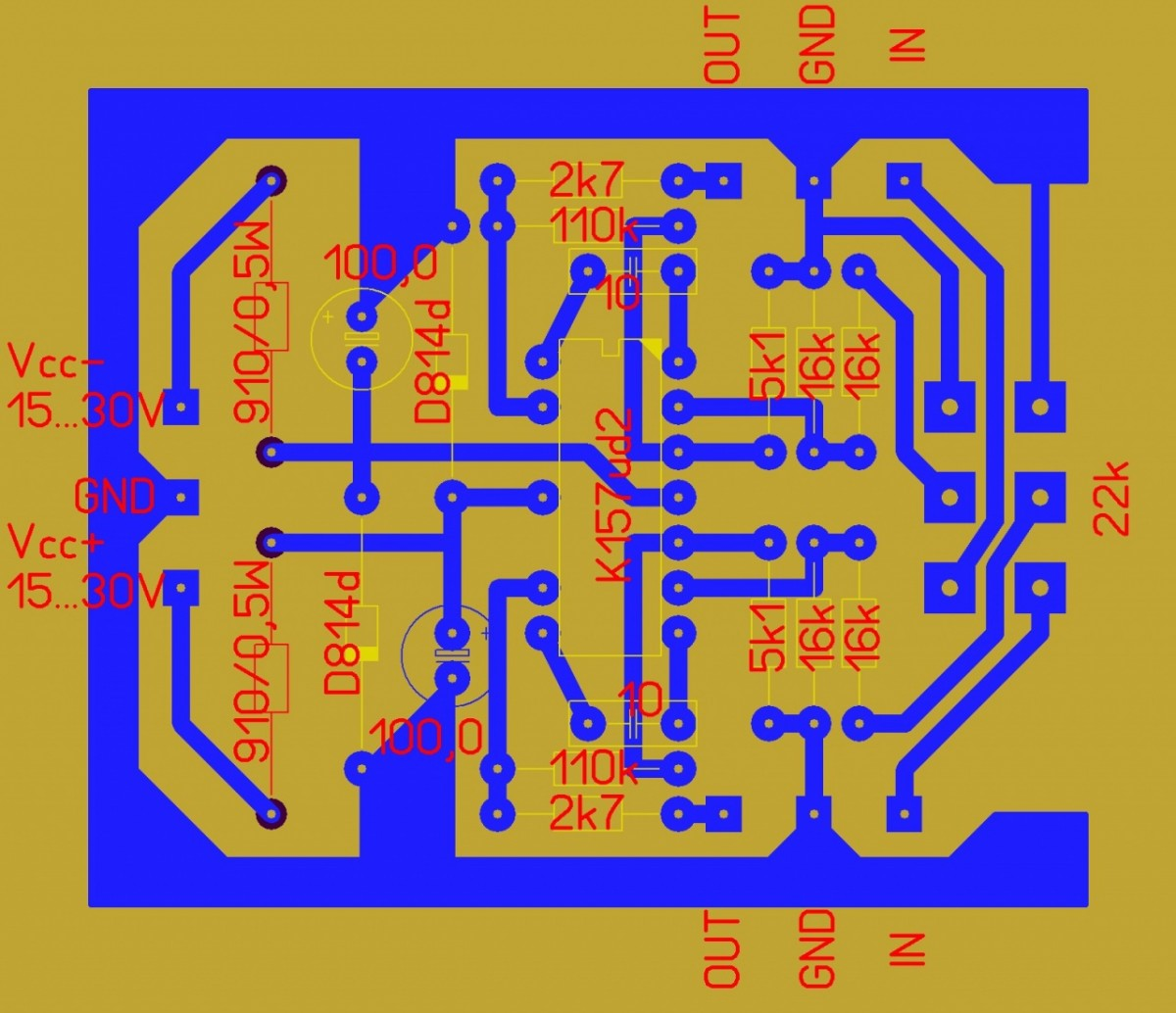 Микросхема 157уд2 схемы
