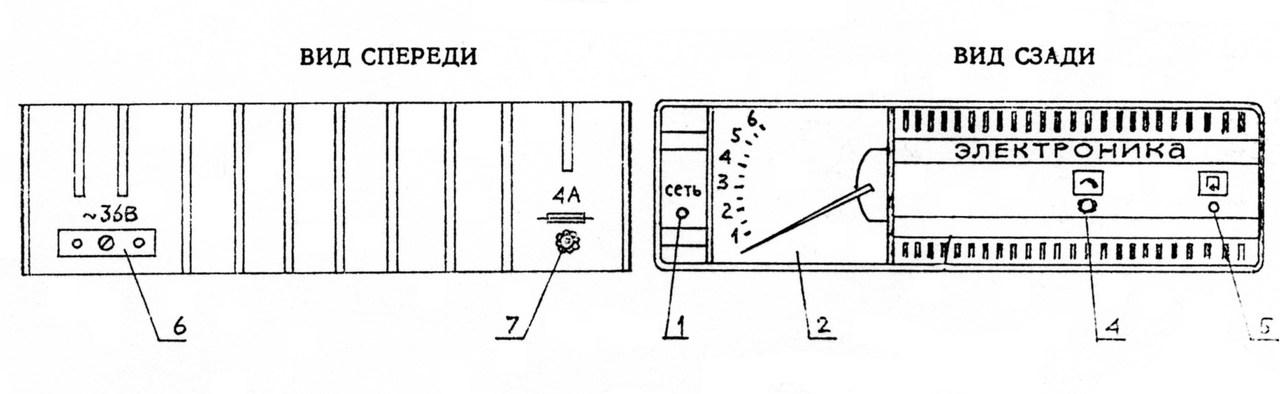 Надежное зарядное устройство с тиристорным управлением.  Электроника, интересные схемы.Радиотехника.