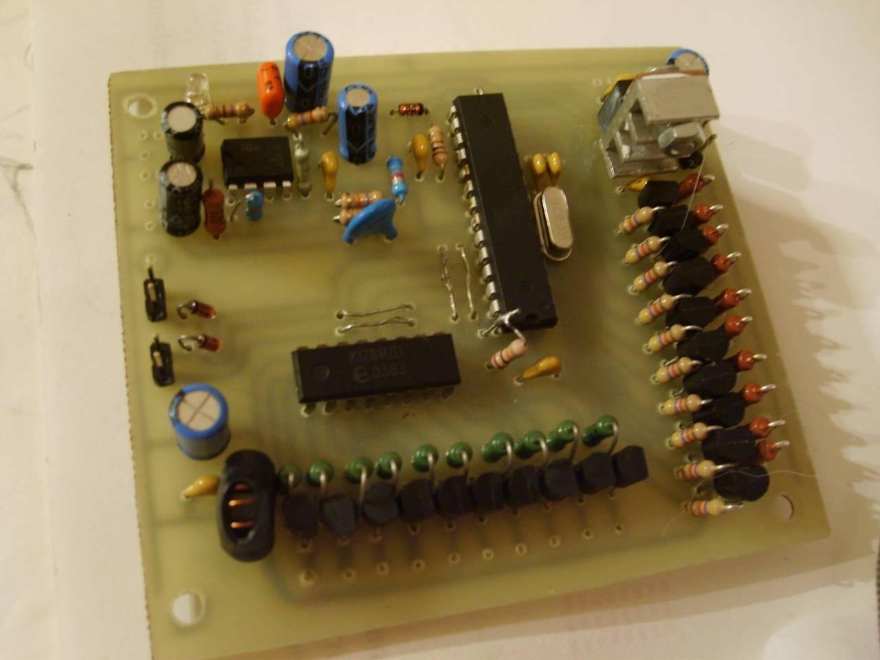 Спектральный анализатор своими руками