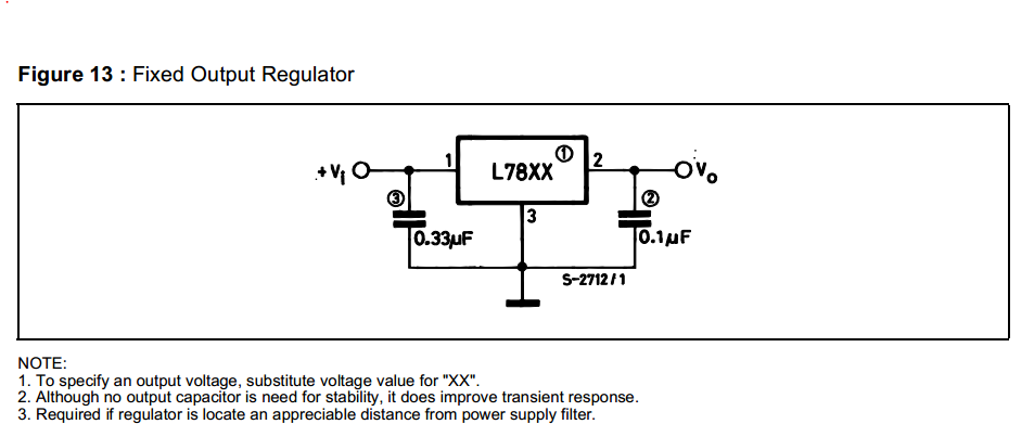 #5. or would it be fine enough with the LM7812 using the below diagram.