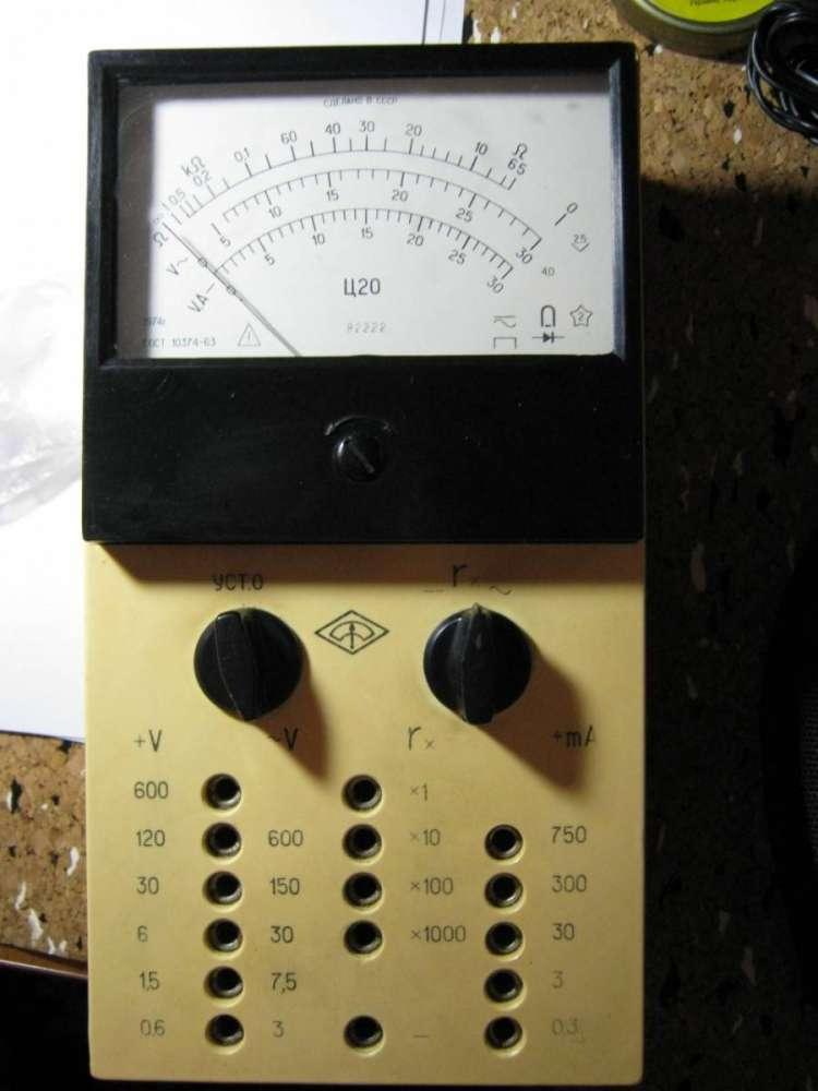 Комбинированный измерительный прибор