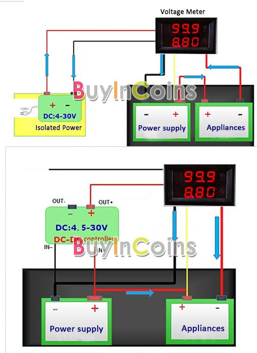 Operating voltage: DC 4.5 30V.