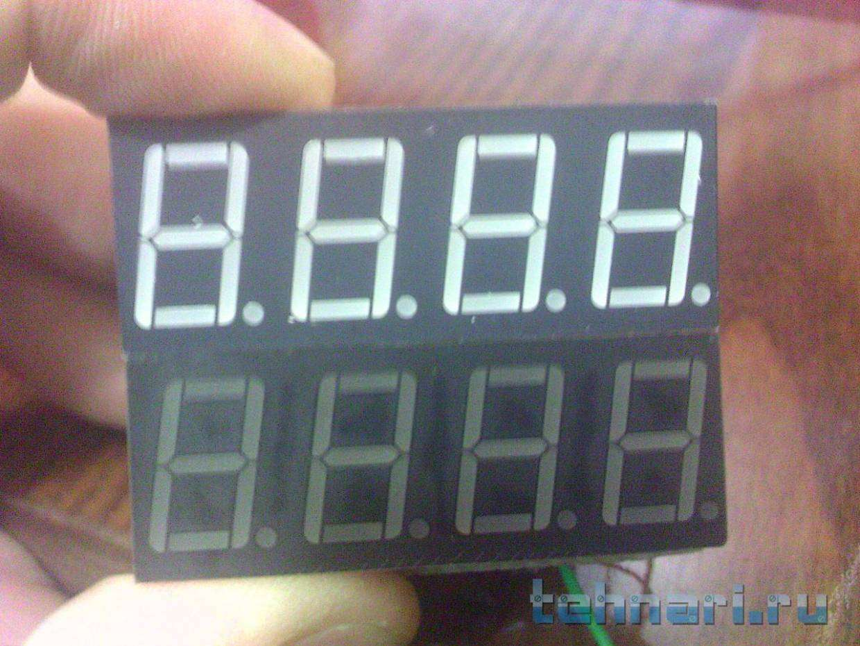 Простые часы на микроконтроллере attiny2313 и ds1307 версия 1.0 простые часы на микроконтроллере att