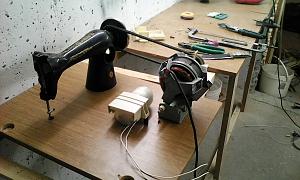 Станок из швейной машинки своими руками 75
