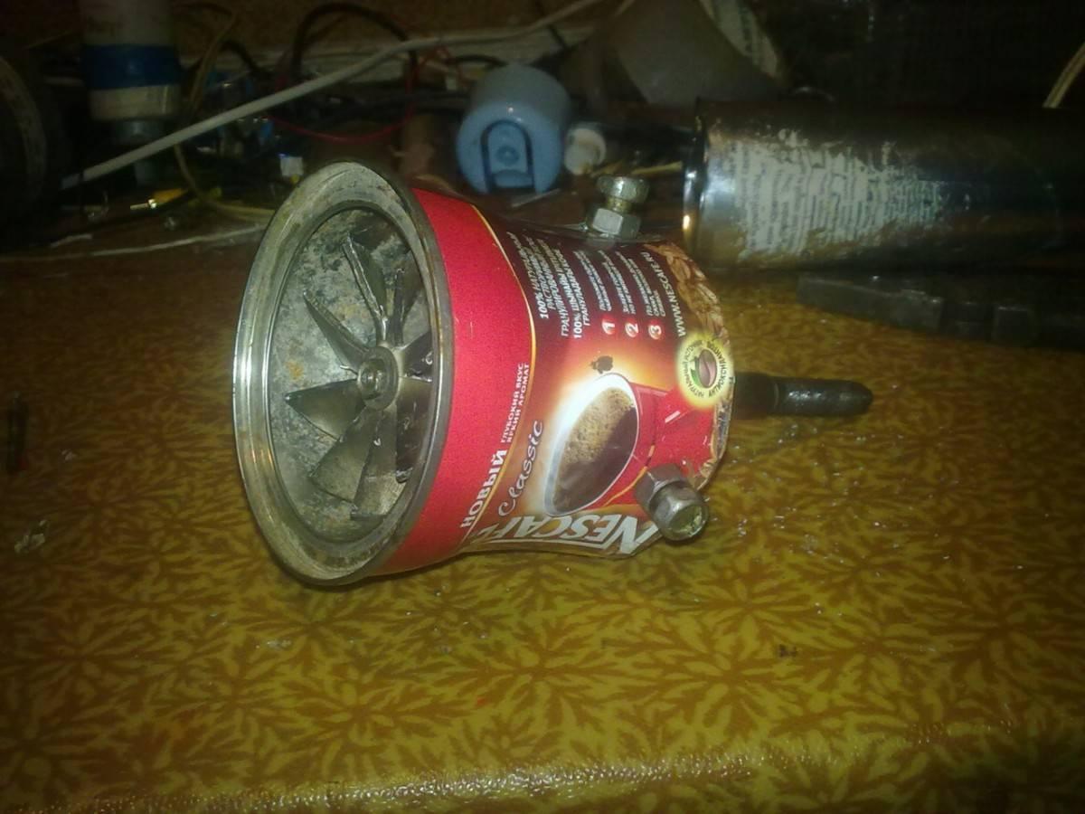 Турбореактивный двигатель своими руками самодельный