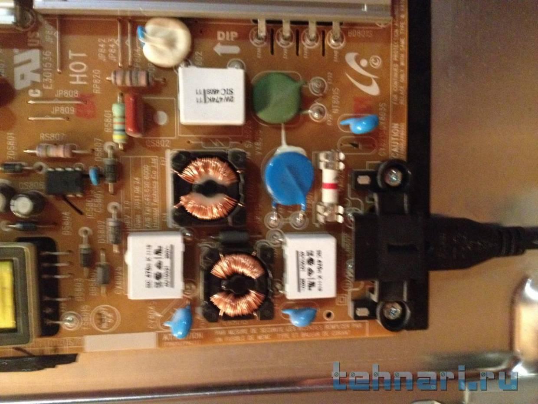 Схема телевизора samsung ue40d5000pw